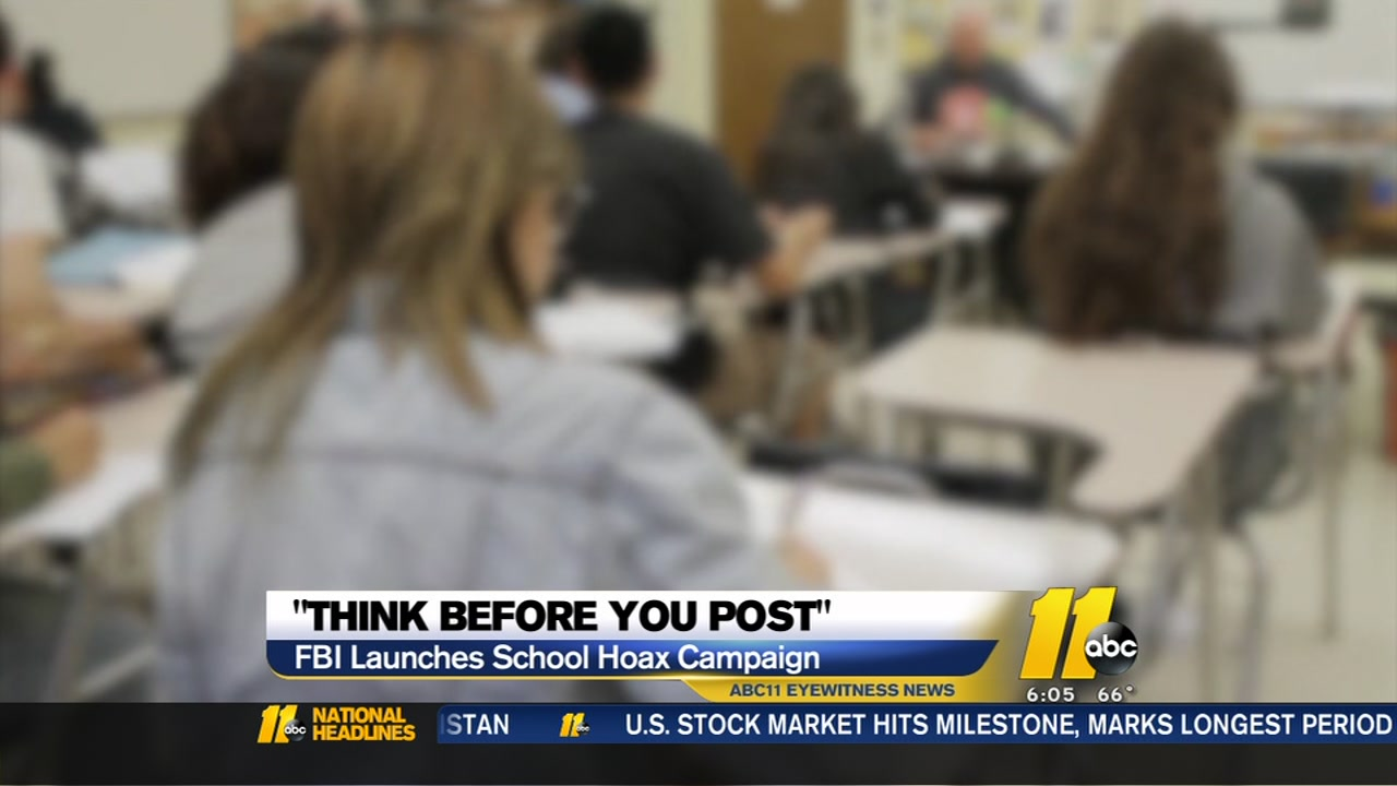 Local and national law enforcement officials have a message for students as the new school year approaches: Think before you post.