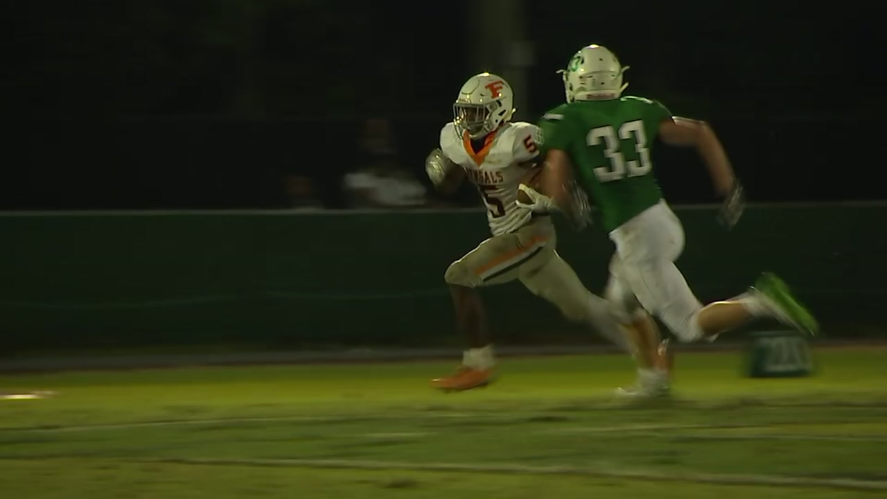Fuquay-Varina fends off Cary for GOTW win.