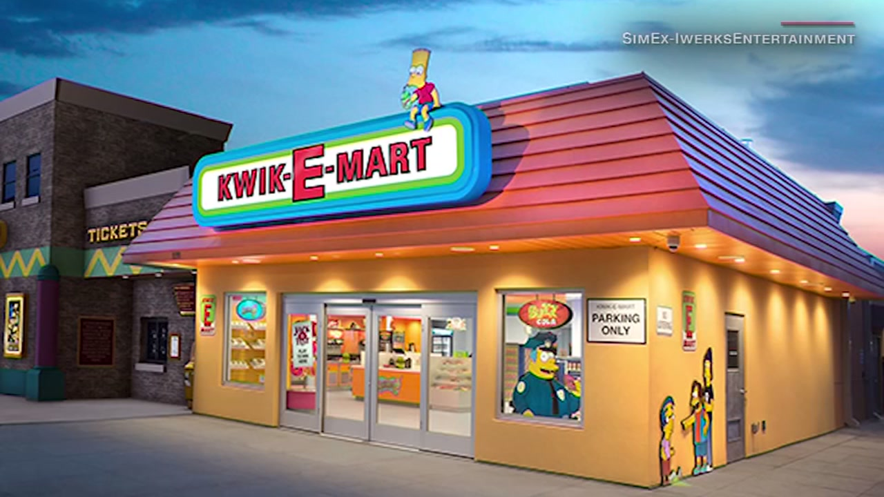 You can now be like Homer and grab a donut from a real-life Kwik-E-Mart! Mmmmm ... donuts!