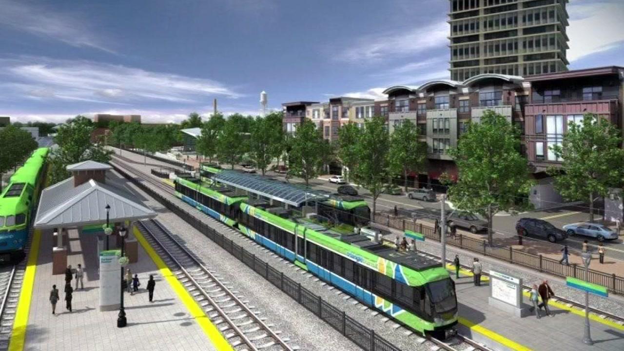 Durham addresses light rail shortfall.