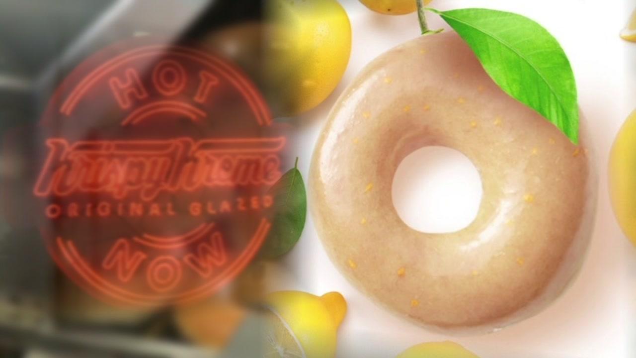 Krisoy Kreme trots out lemon glazed flavor for the end of summer.