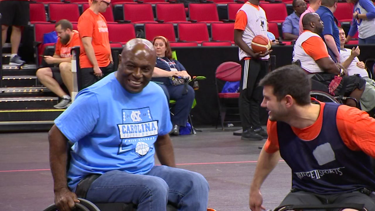 UNC basketball legend Phil Ford gained new perspective through wheelchair basketball.