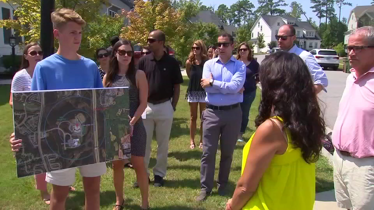 Dozens of parents living in the Cameron Pond subdivision of Cary are furious over a proposed student reassignment plan that will have their kids switching schools.