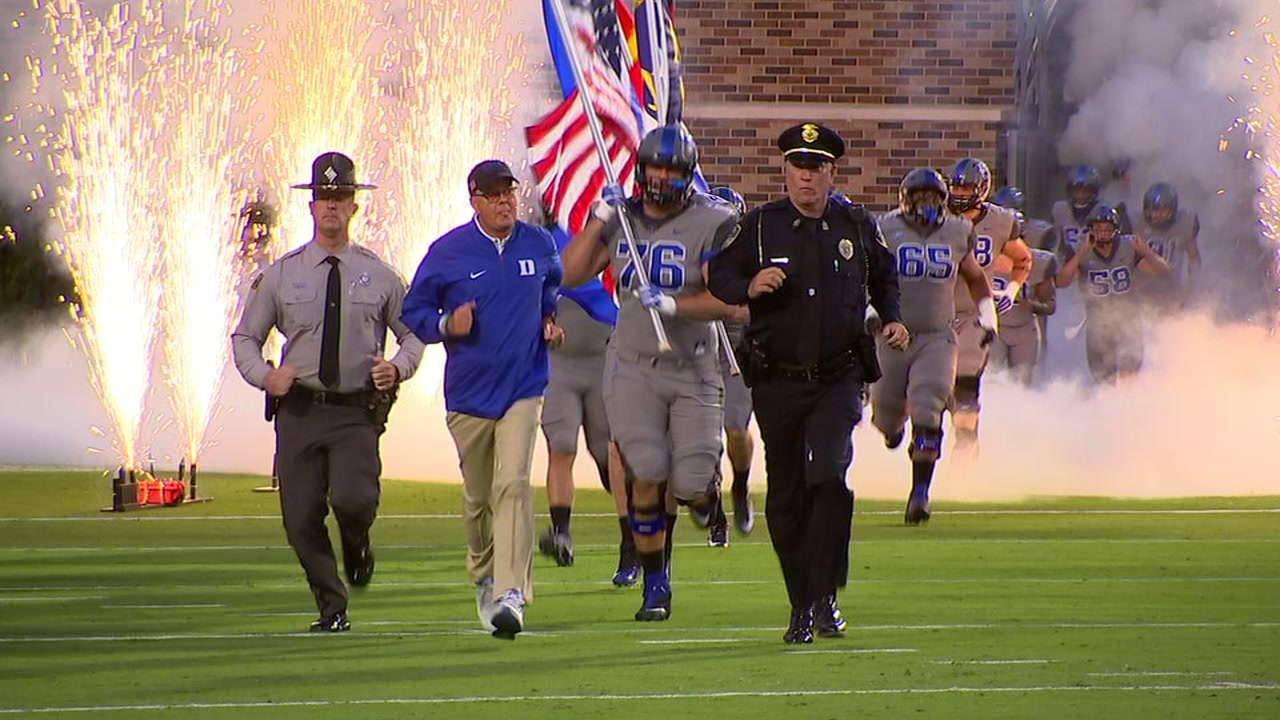 Duke hosts Army on Friday night in the Blue Devils football opener.