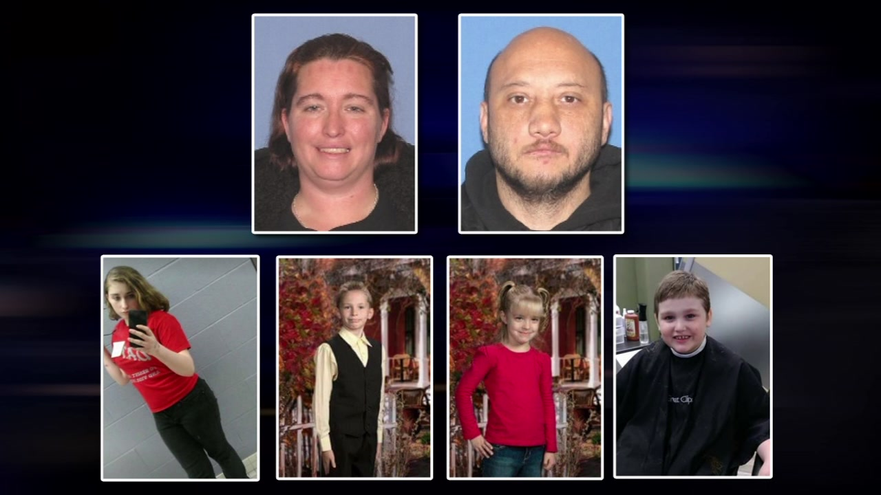Police searching for Ohio children abducted by thier mother and her boyfriend