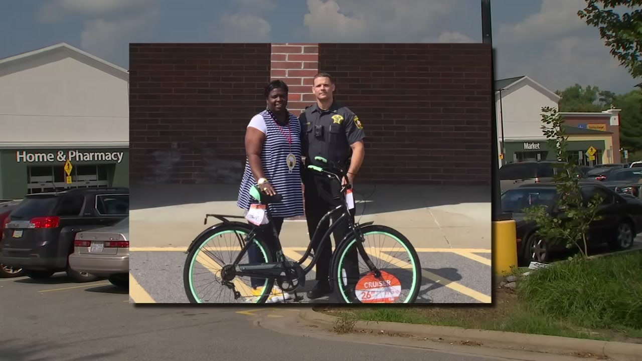 Nash County Sheriff gives a special gift to local woman