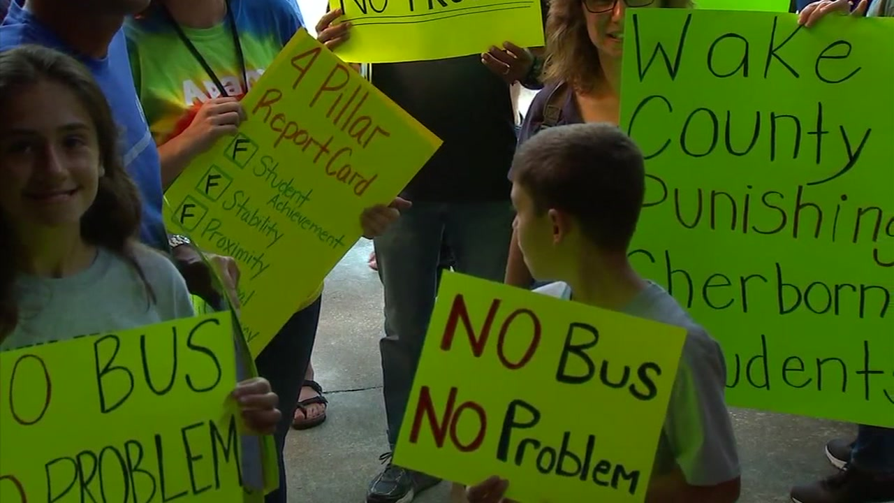 Cary parents flood school assignment plan.