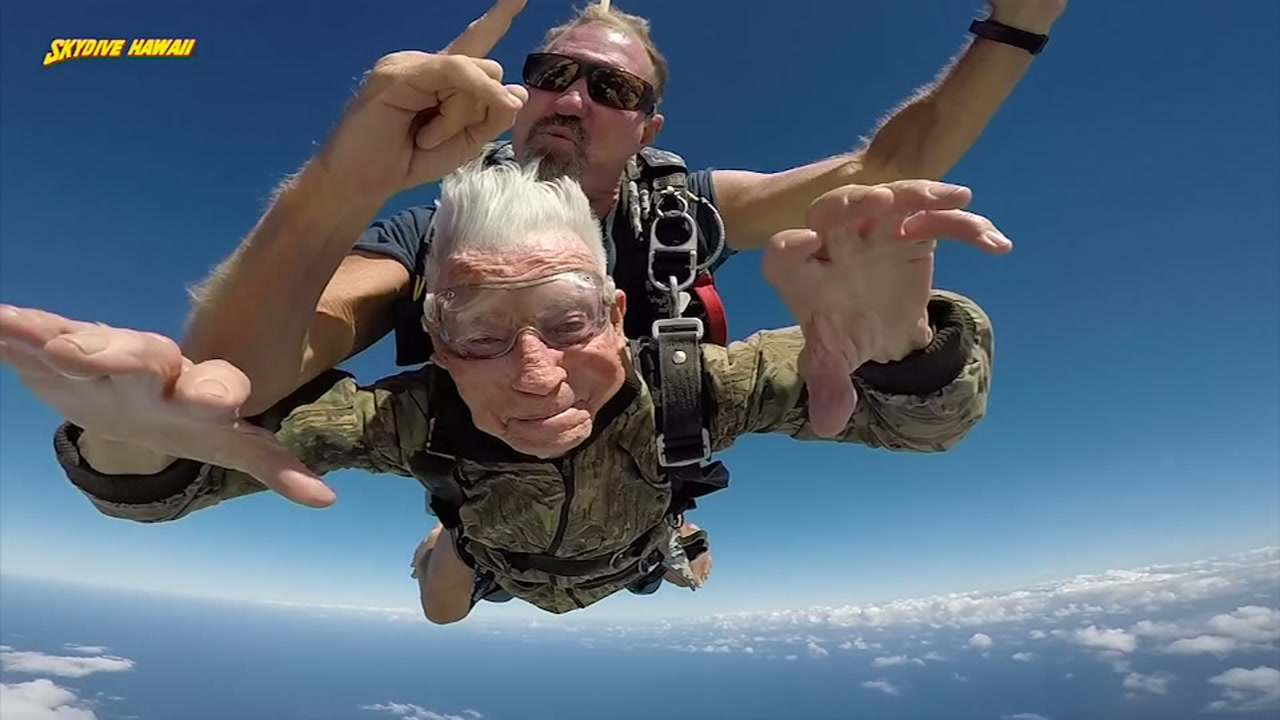 For Polito Paul Olivas, jumping out of planes is no new venture.