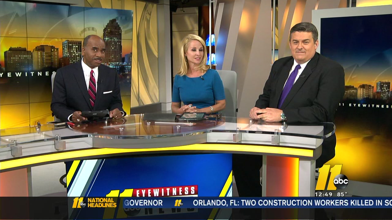 Havent you heard? The set in downtown Raleigh got a makeover.