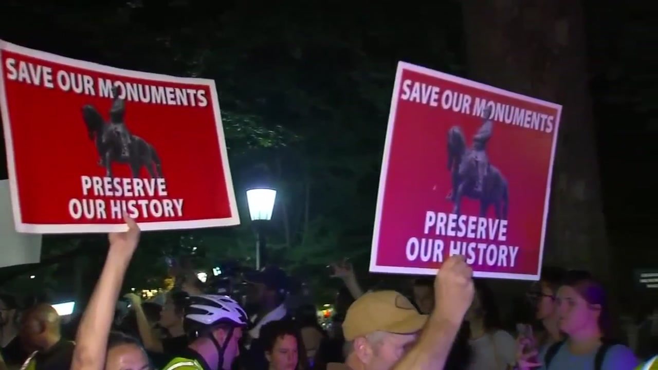Police have identified the three individuals arrested Thursday night during the demonstration near the site of the now-toppled Silent Sam statue.