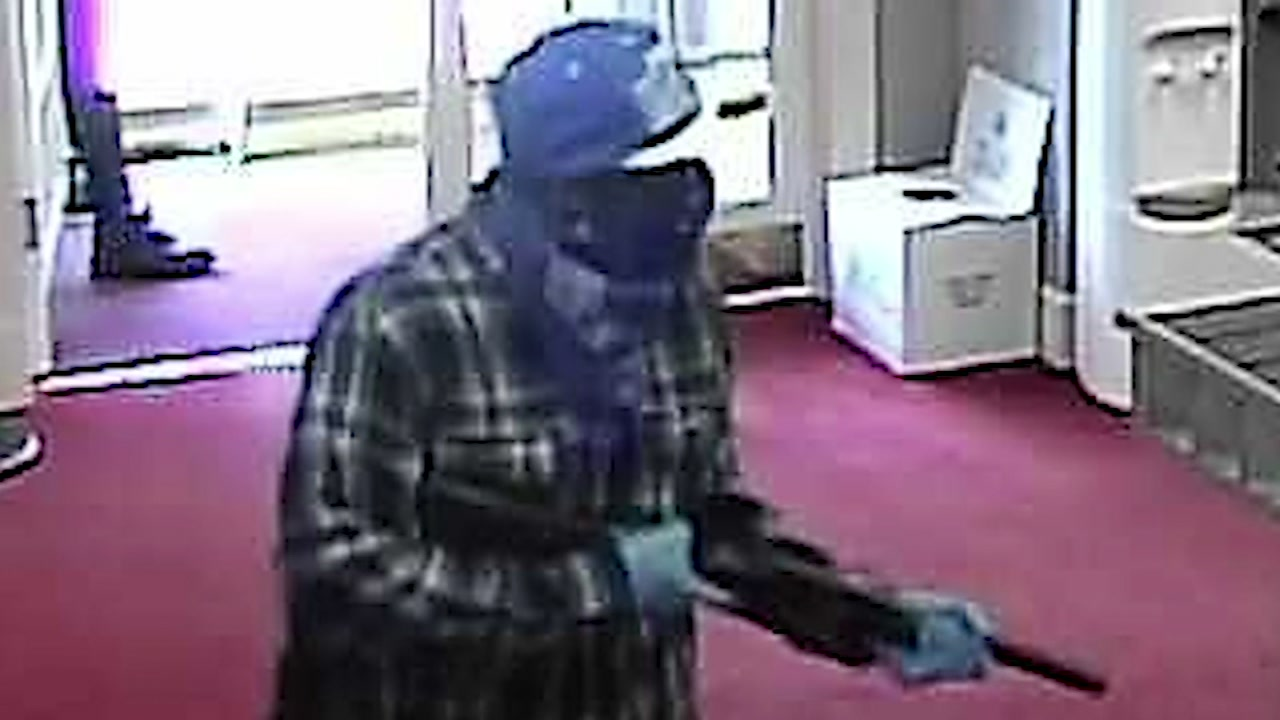 Two men robbed First Bank in Vass last week.