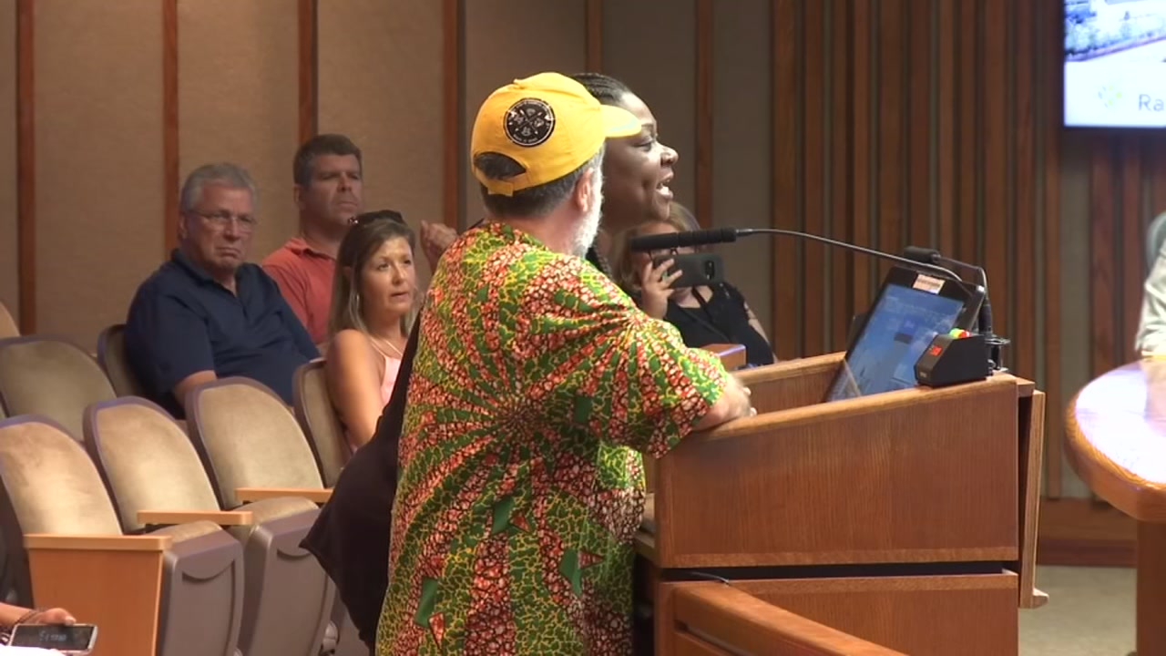 Emotions boiled over inside Raleigh City Council chambers Tuesday night.