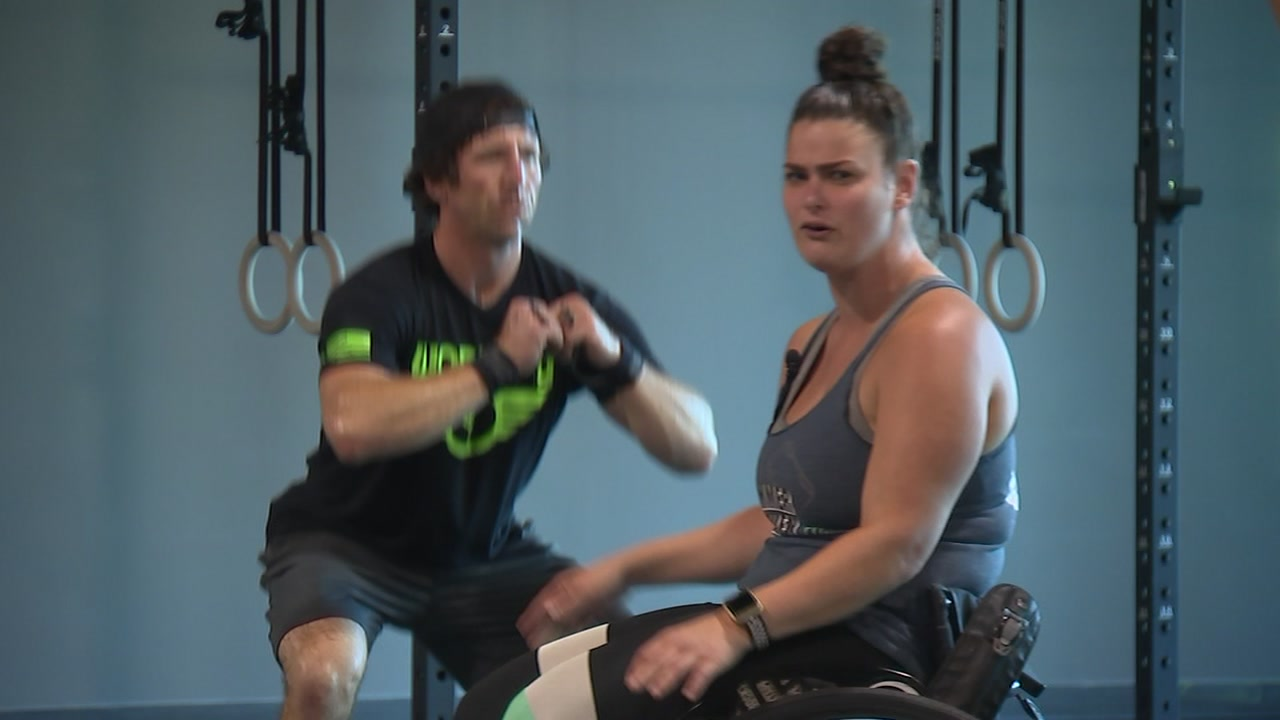 Cerebral palsy doesnt stop woman from opening CrossFit gym in Knightdale