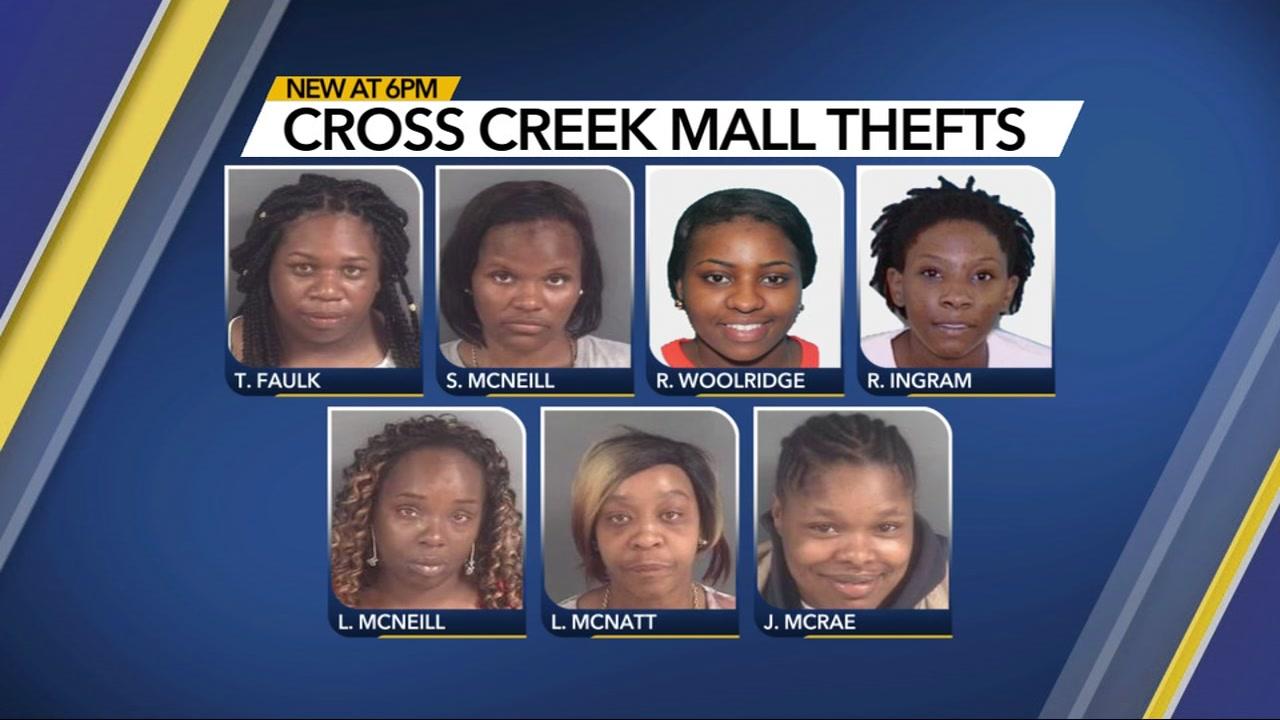 $9,000 in Cross Creek Mall merchandise stolen