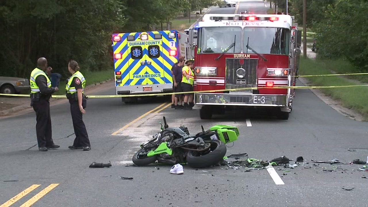 Miami Boulevard closed after fatal motorcycle accident in Durham