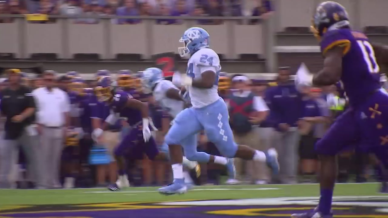 East Carolina beats North Carolina 41-19 in in-state matchup