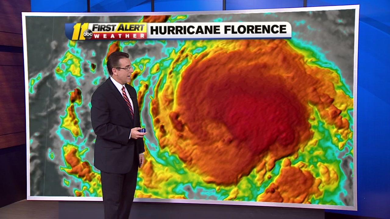 Steve Stewart give an update on Hurricane Florence