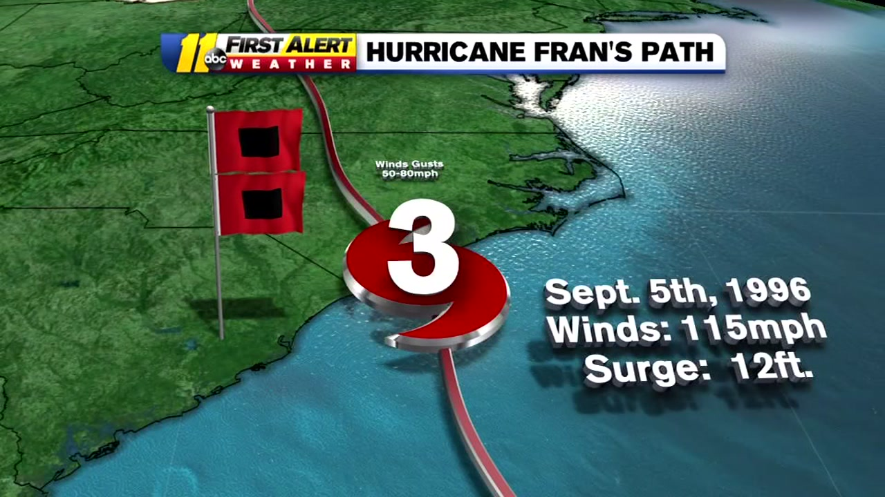 22 years after Hurricane Fran