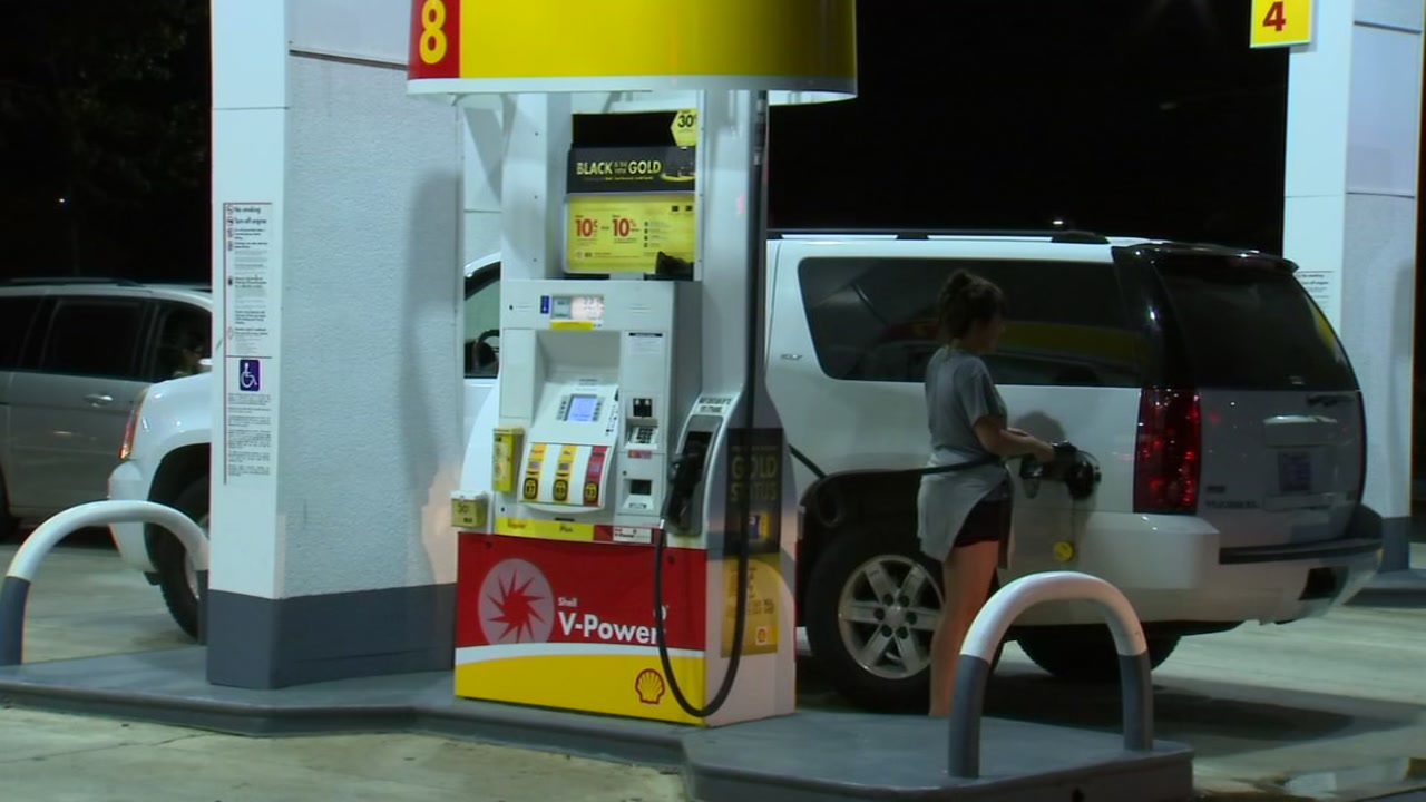Josh Chapin reports as people look to fuel up ahead of the monster storm.