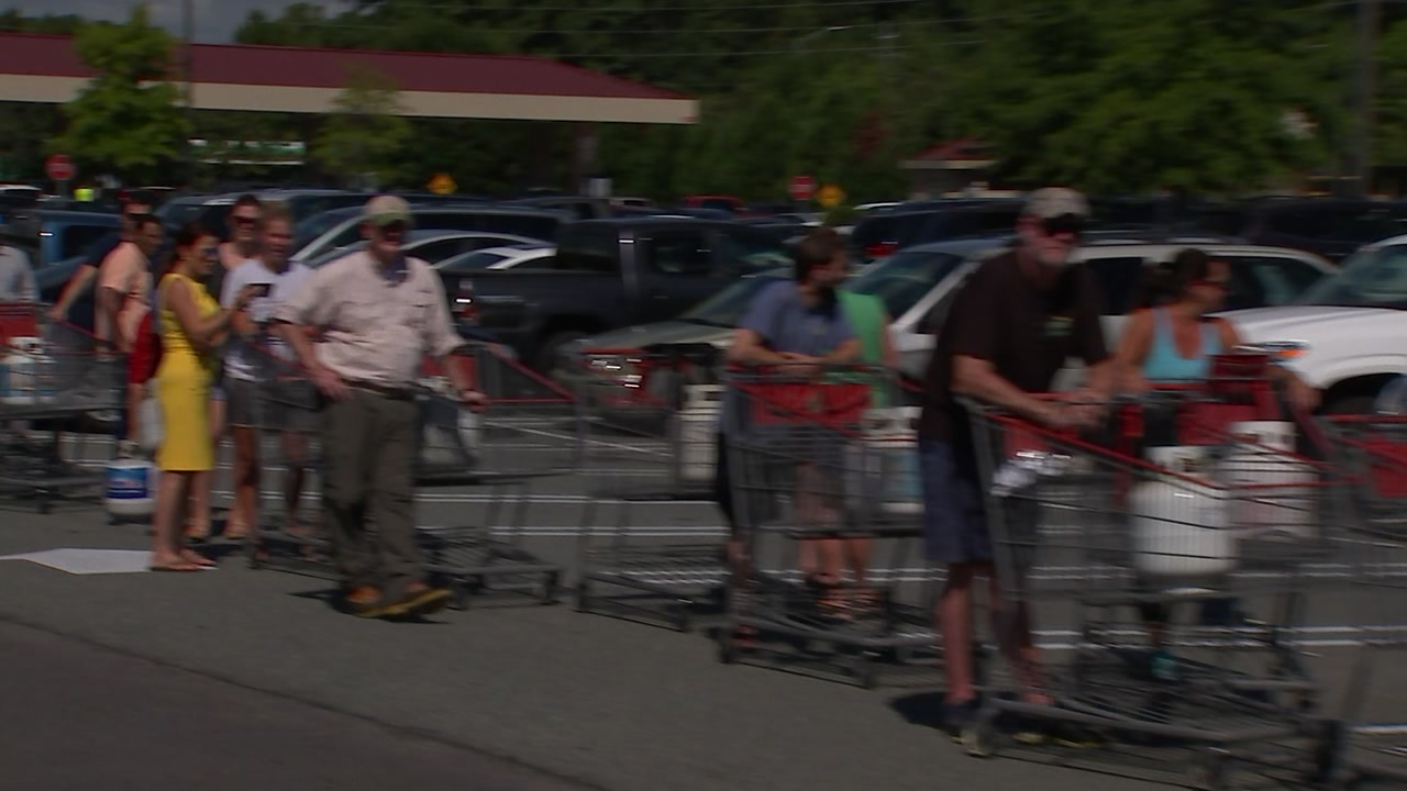 Beware of price gouging when stocking up for hurricane supplies.