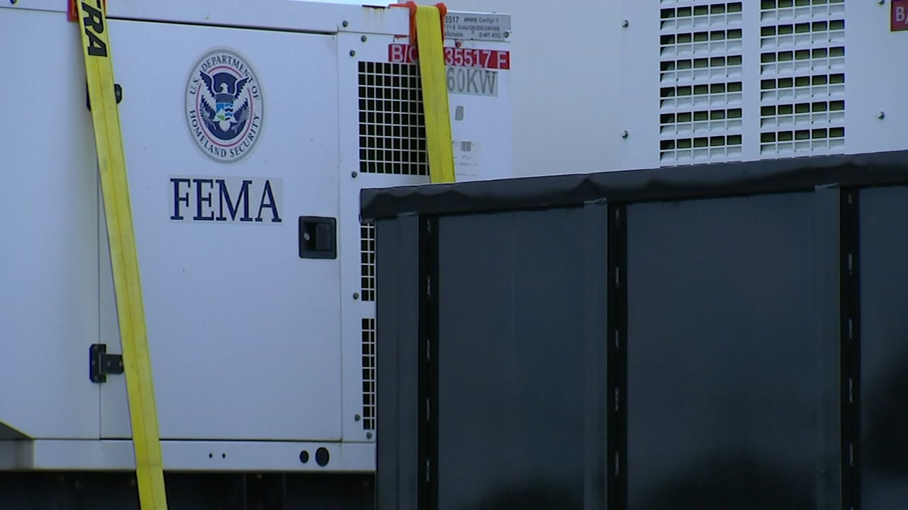 FEMA is staging at Fort Bragg ahead of Hurricane Florence.