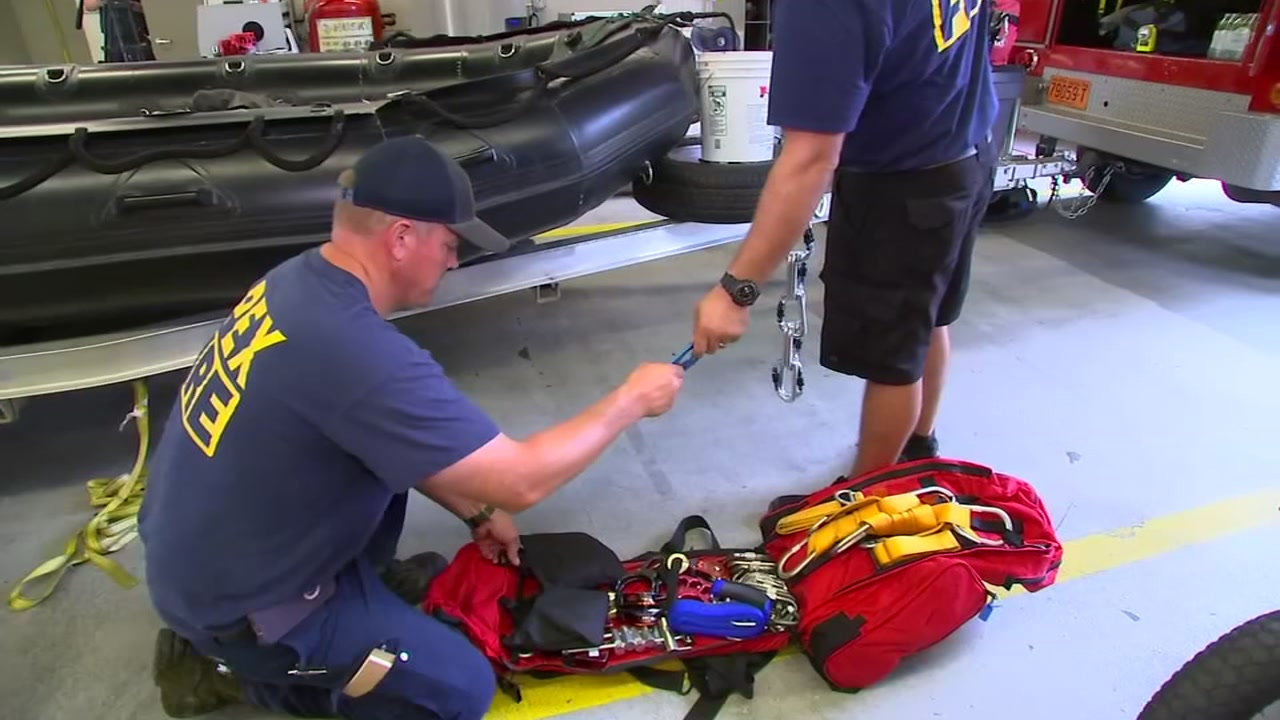 Apex Fire Department prepares for Florence