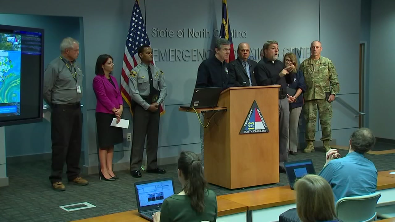Governor Cooper is urging everyone to be prepared for power outages that could last for days.
