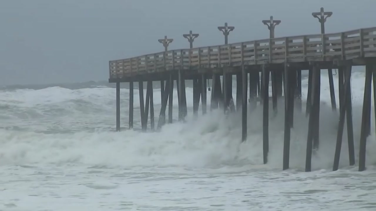 Hurricane Florence has caused significant damage to the North Carolina coast before the eye has even hit.
