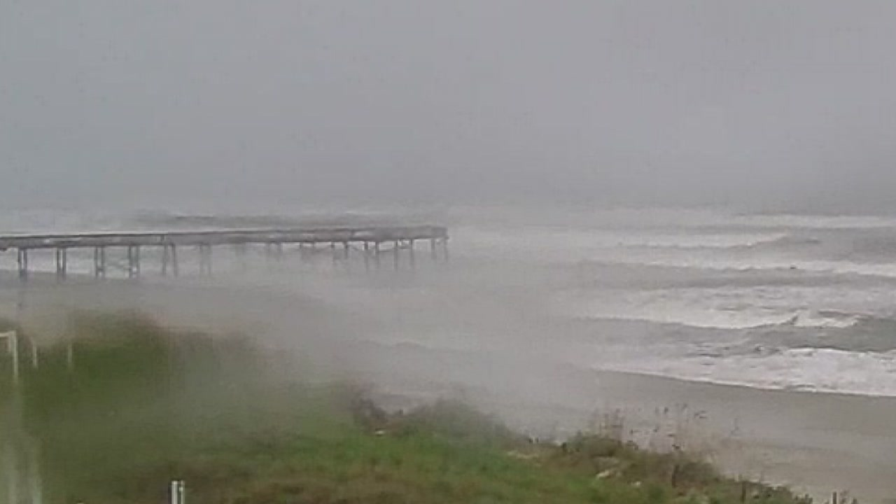Hurricane Florence wreaked havoc at Atlantic Beach Thursday night.