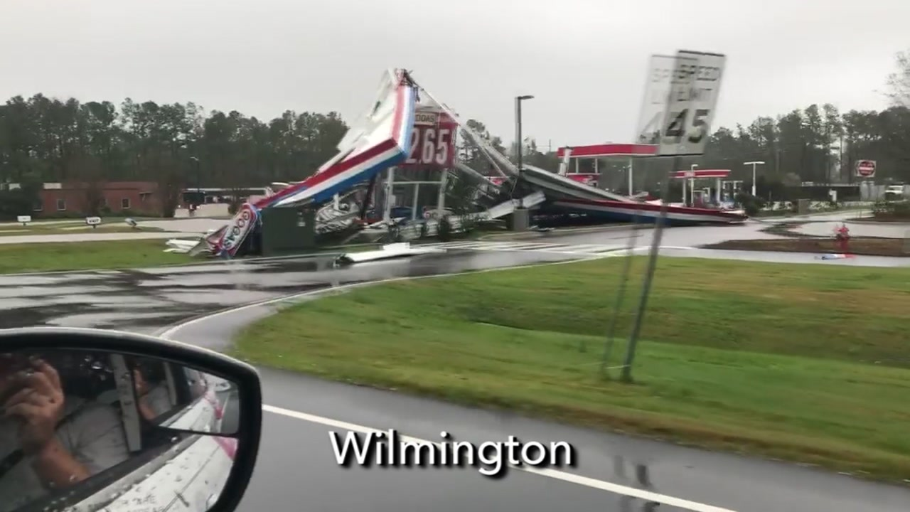 Wilmington faces severe flooding as a result of Hurricane Florence