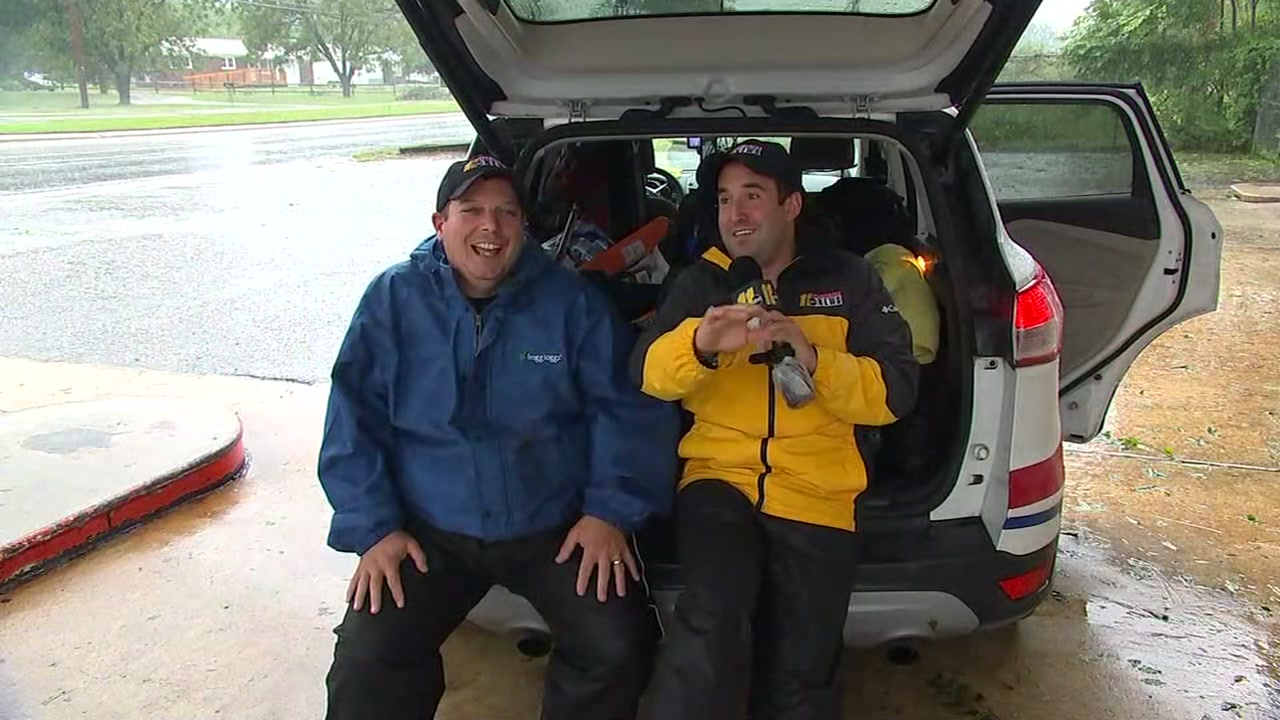 Ever wonder what a reporter and photgrapher pack in their car for a hurricane?