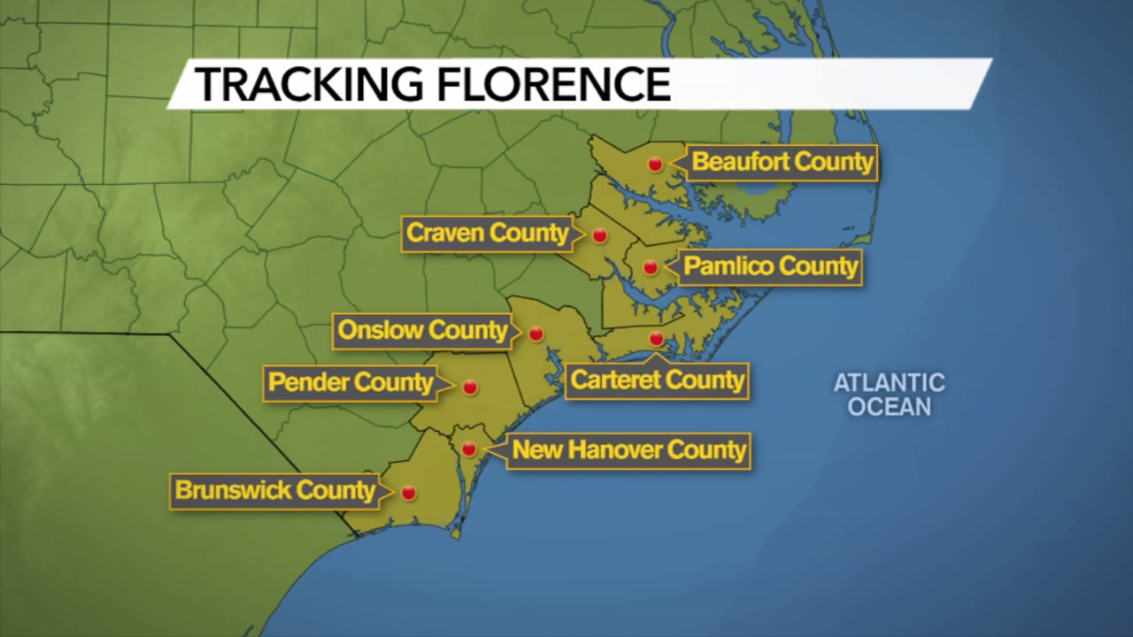 Residents in eight North Carolina counties could get federal help to clean up and rebuild.