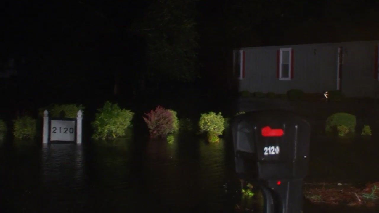 Floodwaters are rising all over North Carolina as Florence pushes through