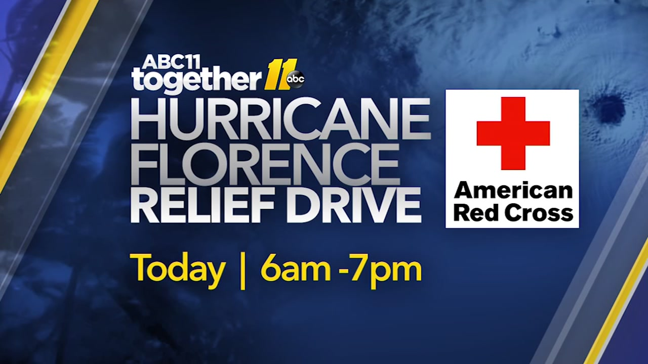 ABC11 Together and the American Red Cross are teaming up on Tuesday, Sept. 18.