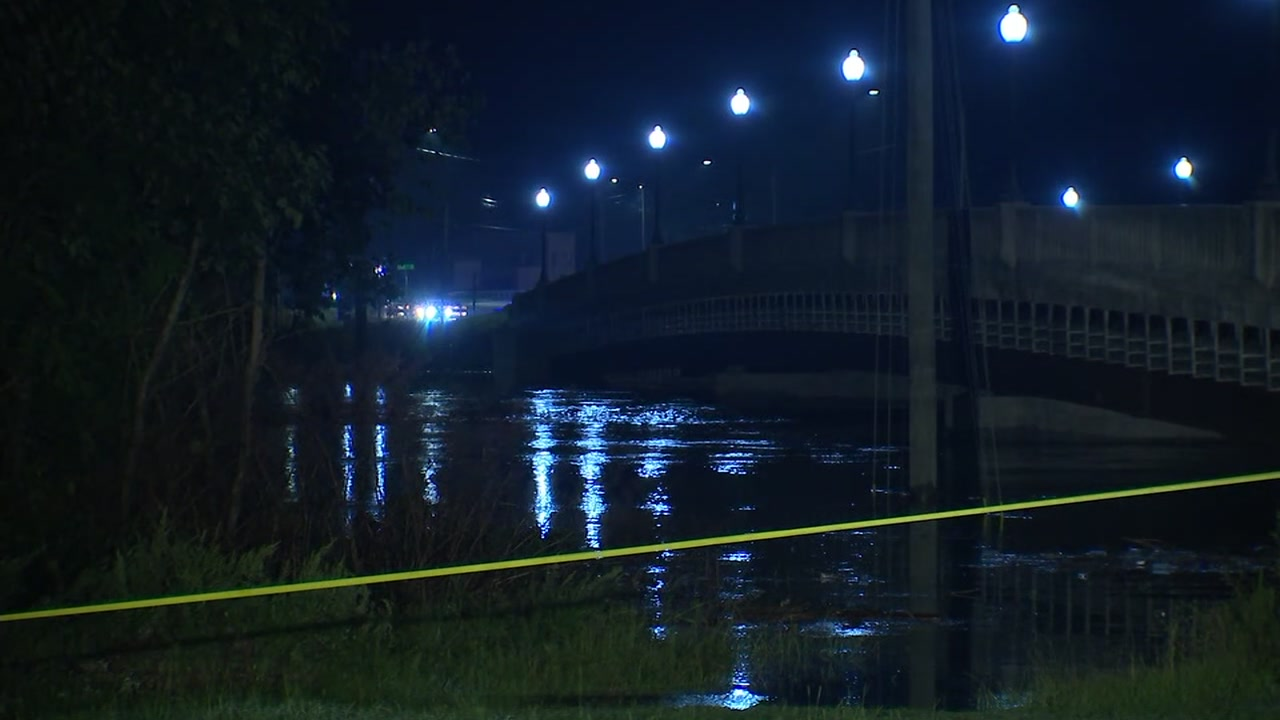 The downtown Fayetteville bridge over the Cape Fear is closed as the river level continues to rise,