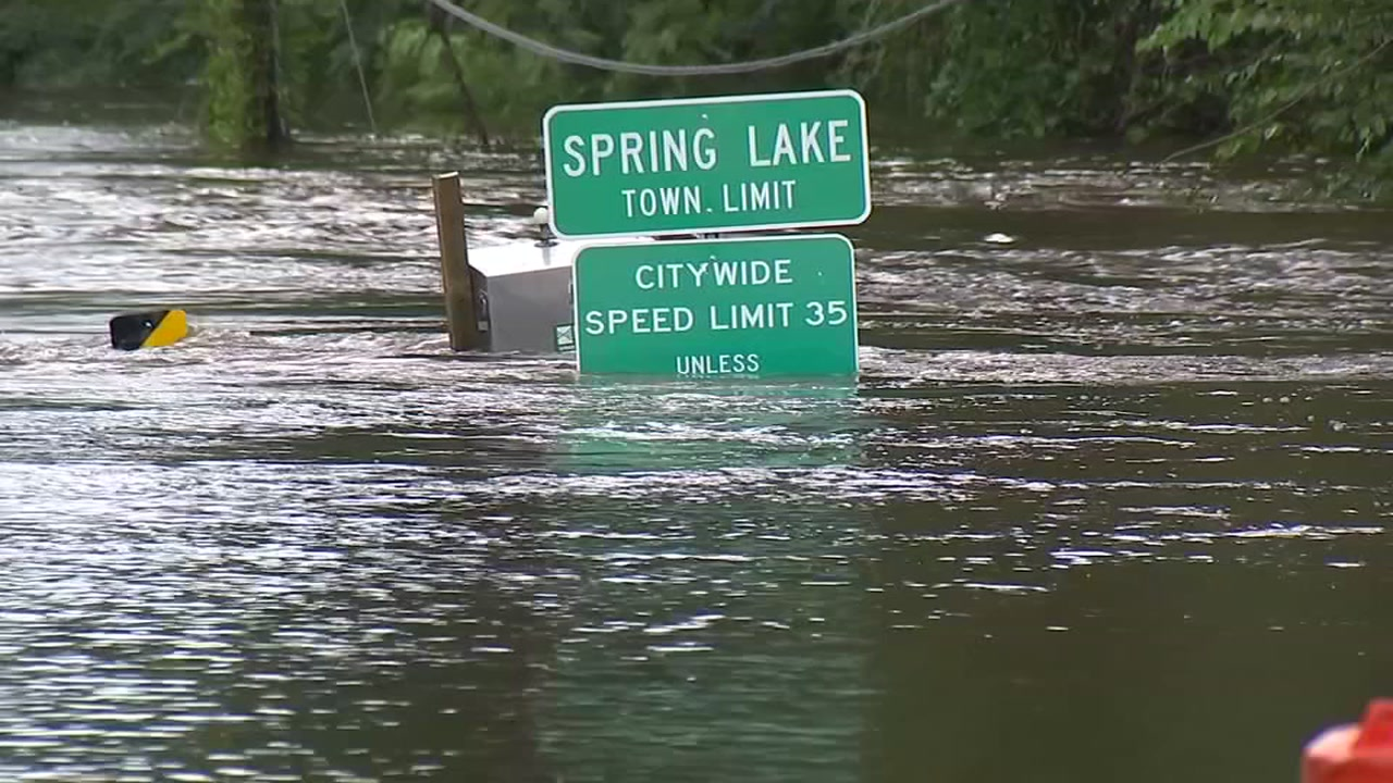 Josh Chapin reports from Spring Lake, where Cumberland officials are keeping a close eye on river levels.