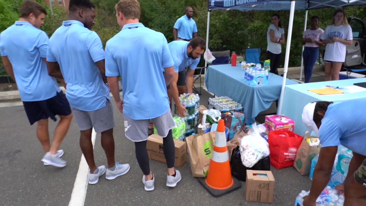 UNC is accepting donations to help the Hurricane Florence relief efforts.