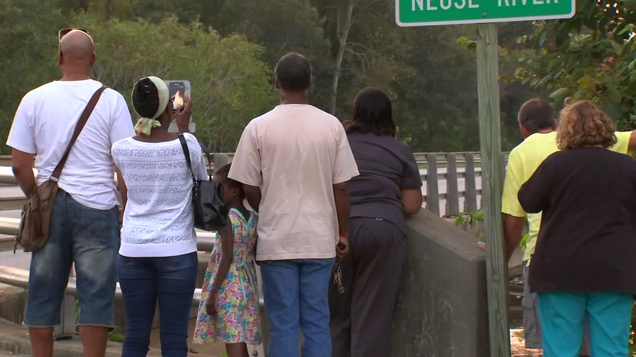 Down in Lenoir County, residents watch and wait as the Neuse River rises.