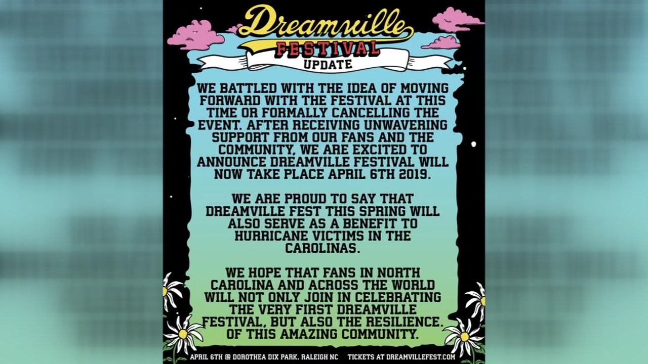 The Dreamville Festival is back on in Raleigh for April 2019 and will be a benefit for hurricane relief.