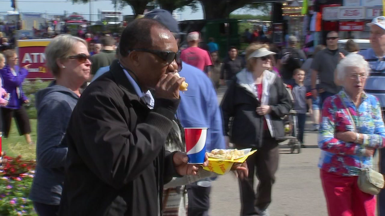 You can sample state fair food for free this weekend.