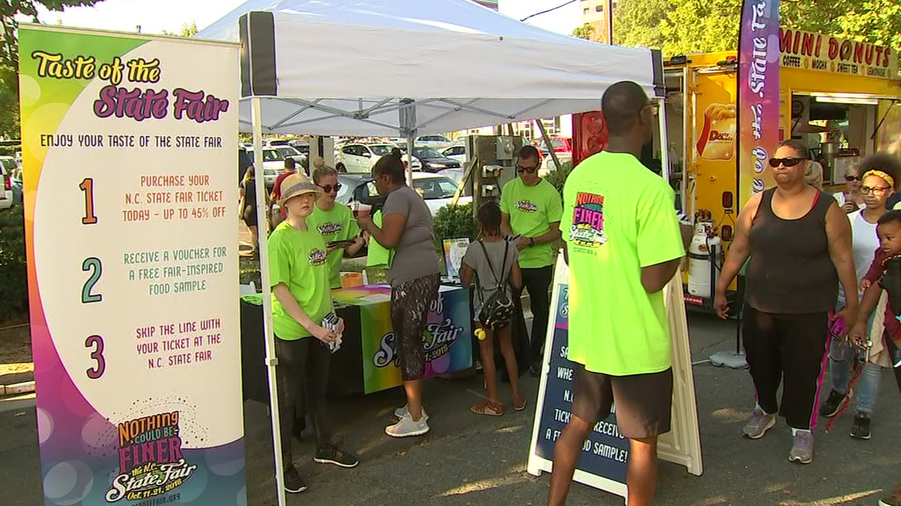 NC State Fair food previewed in Durham