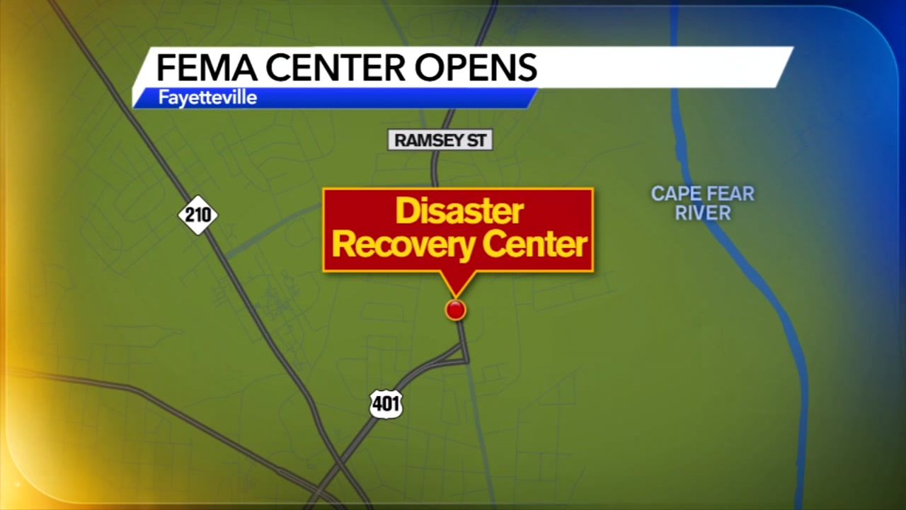 FEMA Disaster Recovery Center opens in Fayetteville to help victims of Florence