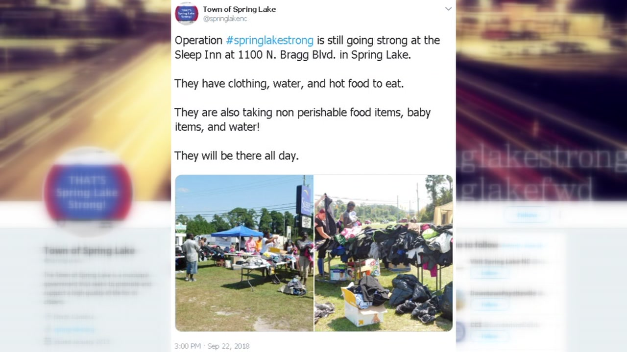 Spring Lake Strong: Donations pour in support of Florence victims