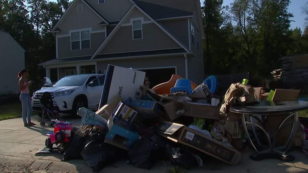 Fayetteville residents endure repeat flooding with Florence