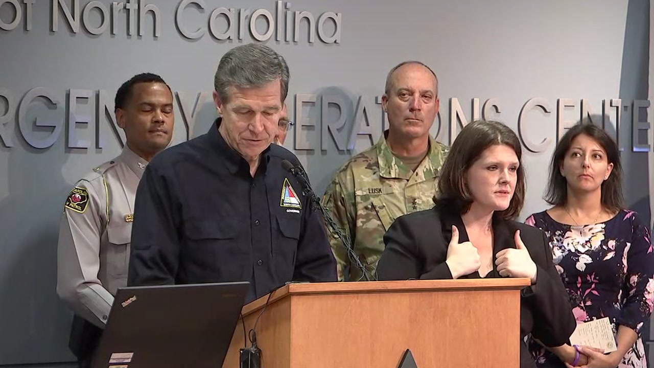 On Monday, Governor Cooper gave the latest update on the recovery and cleanup from Florence.
