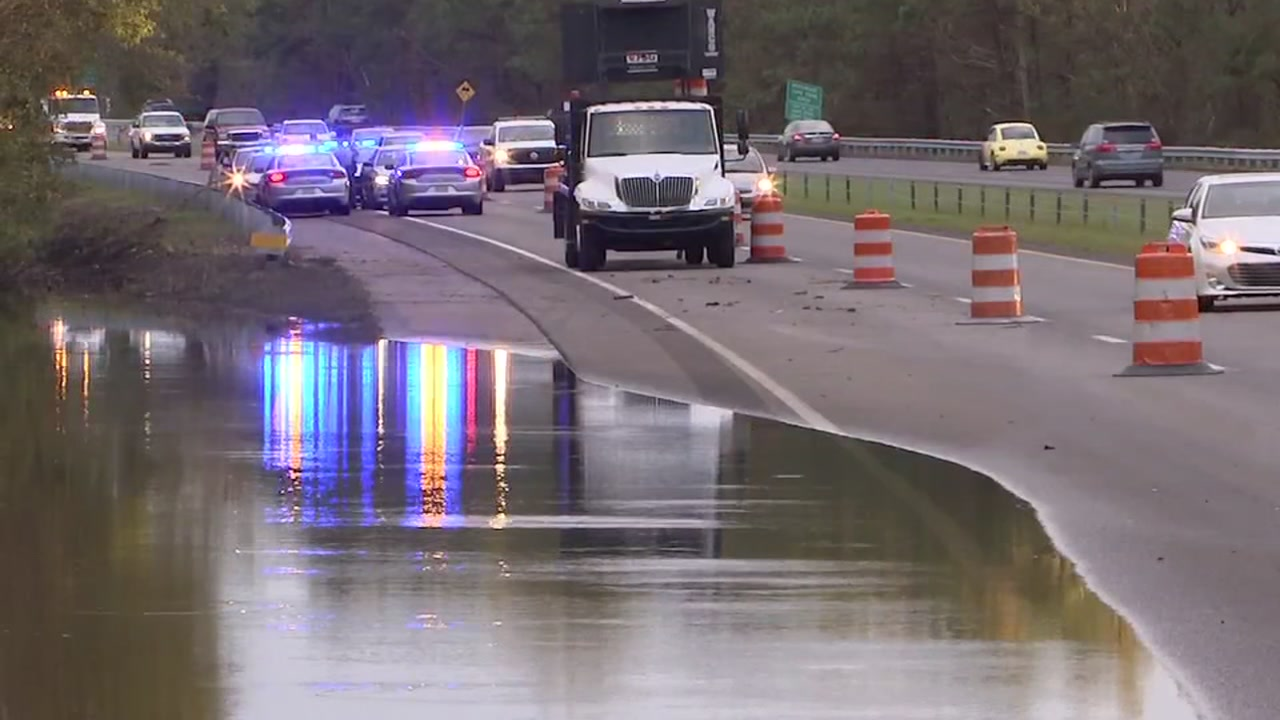 I-40 has reopened to Wilmington, but some lanes -- and many roads -- remain closed.