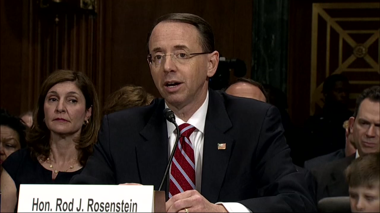 A source familiar with the matter tells ABC News that Deputy Attorney General Rod Rosenstein is expecting to be fired.