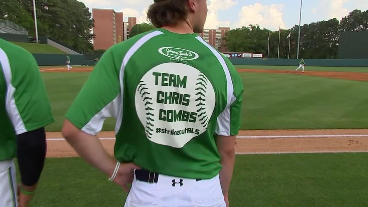 Former State star Chris Combs is getting a lot of support as he continues his fight vs. ALS.