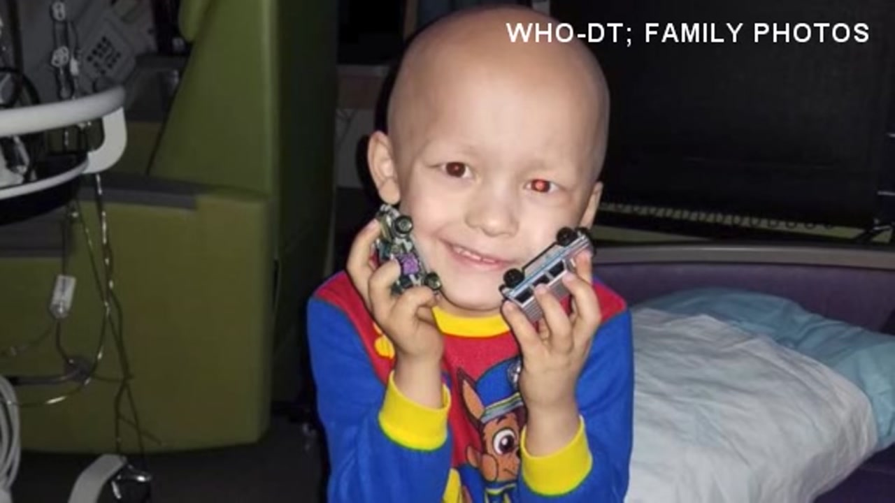 A family in Iowa is in mourning after their young son died of cancer over the summer.