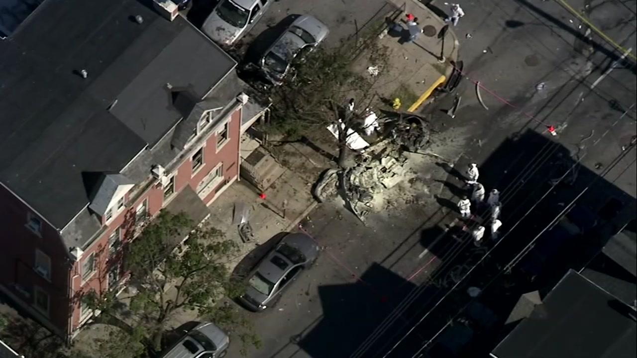 3 dead following car explosion in Pennsylvania
